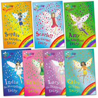 Rainbow Magic Jewel Fairies Collection Daisy Meadows 7 Books Set Pack Brand New