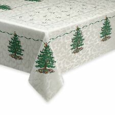 SPODE CLASSIC CHRISTMAS TREE HOLIDAY TABLE CLOTH 60 X 102 ORG $80.00 BNWT
