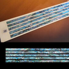 "Stick-0.2""/5mm (Abalone Blue) Inlay Sticker Decal Guitar"