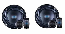 Autotek Car Audio ATS65C 6.5in 2 Way Component Speaker With In-line Crossover