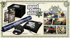 Grand Theft Auto V: Collector's Edition -  Xbox 360 video game COMPLETE * NO DLC