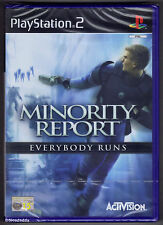 PS2 Minority Report (2002), UK Pal, New & Sony Factory Sealed