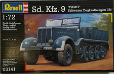 "Revell Model Kit Sd.Kfz. 9 ""FAMO"" Schwerer Zugkraftwagen l8t 03141 NEW"