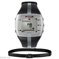 POLAR FT7M Black Fitness Heart Rate Monitor Watch Chest Strap 90051054 90054890