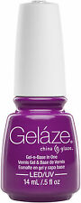 Gelaze by China Glaze Gel Color Polish Plur-Ple - 14 mL / 0.5 fl oz - 82644