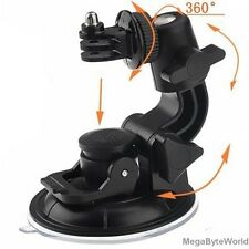 Suction Cup Mount +Tripod Adapter for GoPro HD Hero2 Hero3 Hero3+ Hero4 Camera