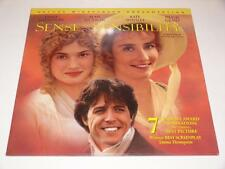 LaserDisc ~ Sense and Sensibility ~ Emma Thompson ~ Double Disc ~ NTSC ~Columbia