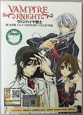 Anime DVD: Vampire Knight Season 1&2 Ultimate Collection_Eng Sub & Dub_FREE SHIP