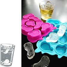 Time Lost Melting Clock's Ice Tray Ice Cubes DIY Mould Pudding Jelly Mold