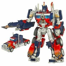 Transformers Movie Leader Class Optimus Prime 10 Pulgadas Deluxe Figura
