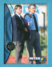 INTER CARDS 2000 DS - Figurina/Sticker/card - n. 3 - MASSIMO MORATTI