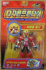 Bandai Digimon Action Digi Warrior Agnimon Figure New