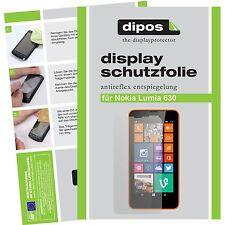 1x dipos Nokia Lumia 630 matte Displayschutzfolie Antireflex Testsieger Folie