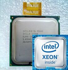 Intel Xeon E5440 2.83Ghz (SLANS) Cpu/Lga775 Core 2 Quad Q9550 and 2x adapter