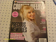 Dolly Parton Covers Country Weekly Magazine June 2015 Thompson Square