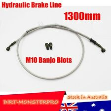 1300mm Hydraulic Brake Line Hose Cable Motorbike Dirt ATV Quad Bike Buggy GoKart