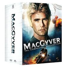 Macgyver: Complete TV Series All 7 Seasons & 2 Movies Boxed / DVD Set NEW!