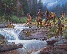 Passage at Falling Waters by Martin Grelle Lot 17959E
