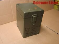 *Military Geninuine WWII Wooden US Army Telephone Repeater Box (Empty)