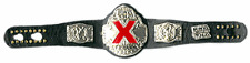 TNA X Division Micro Wrestling Figures Title Belt  NWA