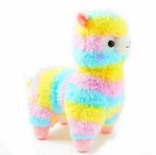 UK SELLER Cute Large Rainbow Arpakasso Alpacasso 38cm Kawaii Alpaca Llama Plush
