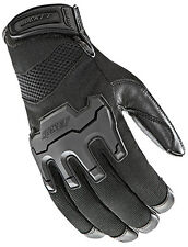 JOE ROCKET MENS ECLIPSE  MESH BLACK  MOTORCYCLE GLOVES  XXL 2XL TOUCH FINGER