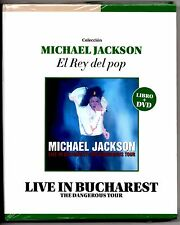 "Michael Jackson Live in Bucharest ""Dangerous Tour"" DVD & Book: El Rey Del Pop"