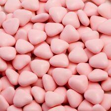 1kg Boite Approximativement 900 ROSE Luxe Mini Cœur Dragees Marriage/Baptême