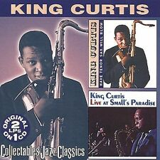King Curtis CD Have Tenor Sax Will Blow/Live Smalls Paradise Instrumental Oldies