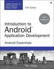 Free Ship -Introduction to Android Application Development by Darcey 5ed INTL ED