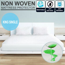 King Single Bed-Fitted Waterproof & Anti--Allergy Mattress Protector