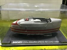 "DIE CAST "" DUCATI 100 cc SILURO SPEED RECORD - 1956 "" SCALA 1/24"