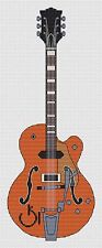 Gretsch Guitar Cross Stitch Kit