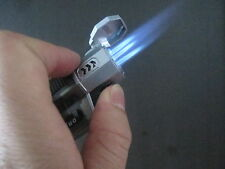 1PC Three Jet Flame Lighters Windproof Butane Cigar Lighter Cool Gift for Freind