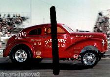 """BIG"" John Mazmanian 1950s Austin AA/Gasser PHOTO!"