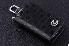 Genuine Leather Car Remote Key Chain Holder Case Bag Fit For Lexus Auto