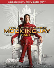The Hunger Games: Mockingjay, Part 2 (Blu-ray/DVD, 2016, 2-Disc Set, Canadian)
