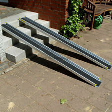 1,2m o. 2,1m Alu Wheelchair Ramp Telescopic ramp wheelchair ramp Loading ramps