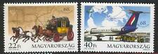 HUNGARY - 1995. 68th Stampday / Mail-Coach/Airplane MNH!!! Mi:4358-4359.