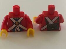 *NEW* 1 Piece Lego Minifig RED Torso Pirate IMPERIAL SOLDIER Uniform Knapsack