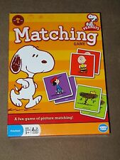 Peanuts Snoopy Matching Game-Contains 72 Picture Tiles-New In Package