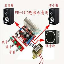TDA2030A 2.1 Amplifier Board 18Wx2  Dual Channel 3 Sound Track Speaker Circuit