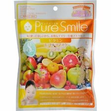 NEW Pure Smile Essence Mask 8 sheets set vitamin From Japan F/S