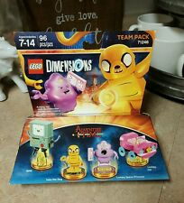 LEGO Dimensions Adventure Time Team Pack Lumpy Space Princess and Jake The Dog