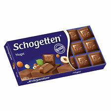 SCHOGETTEN nougat chocolate - special offer - (4) Pannels - Made in Germany