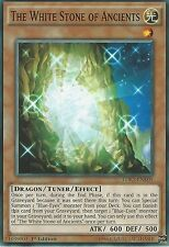 3 X YU-GI-OH CARD: THE WHITE STONE OF ANCIENTS - LDK2-ENK05 1ST EDITION