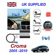 Fiat Croma Bluetooth Hand Free Phone AUX Input MP3 USB 1.0A Charger Module 05-10