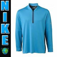 NWT Men's Size Large NIKE DRI-FIT WOOL TECH GOLF COVER-UP MSRP $100 BLUE 655318