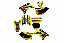 Suzuki RMZ250 07-09 graphic kit 2007 2008 2009 decals stickers mxgrphics rmz 250