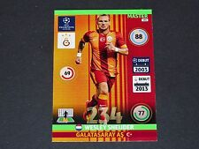 WESLEY SNEIJDER GALATASARAY UEFA PANINI FOOTBALL CARD CHAMPIONS LEAGUE 2014 2015